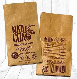 Chocolate Em Pó 35% com Açúcar Demerara 400g - Natucoa
