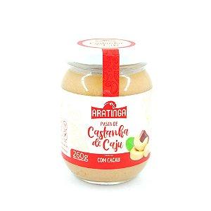 Pasta de Castanha de Caju Com Cacau260 g – Aratinga