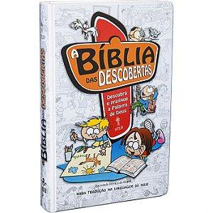 A BÍBLIA DAS DESCOBERTAS - PARA MENINOS
