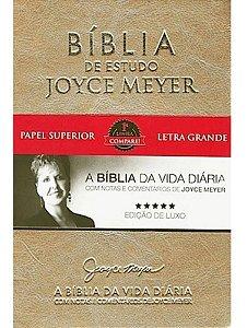 BÍBLIA DE ESTUDO JOYCE MAYER