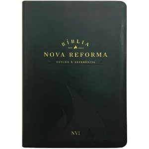 BIBLIA DE ESTUDO NOVA REFORMA - VERDE ESCURO