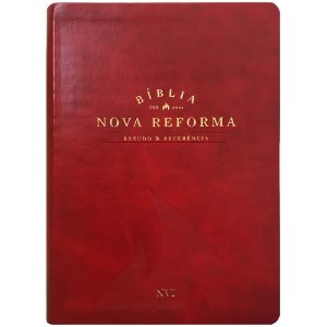 BIBLIA DE ESTUDO NOVA REFORMA - VERMELHA