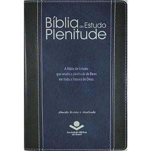 BIBLIA DE ESTUDO PLENITUDE - AZUL