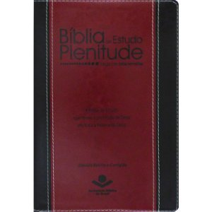 BÍBLIA DE ESTUDO PLENITUDE - VINHO