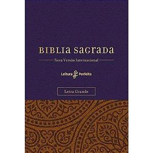 BÍBLIA SAGRADA - SUA BÍBLIA PARA ANOTAÇÃO - ROXA