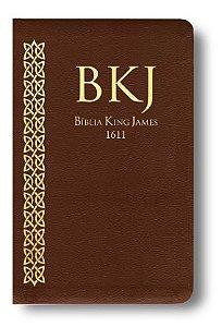 BÍBLIA ULTRA FINA KING JAMES - MARROM