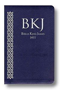 Bíblia Ultra Fina King James - Azul