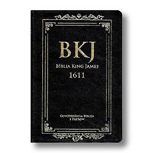 Bíblia King James com Concordância - Preta
