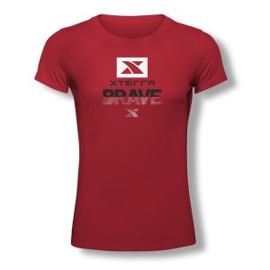 Camiseta Feminina Xterra Brave Vermelha