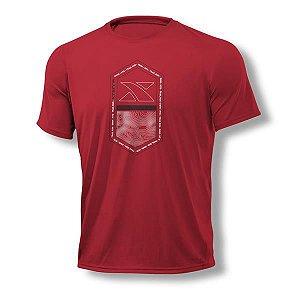 Camiseta Masculina Xterra Pill Vermelha