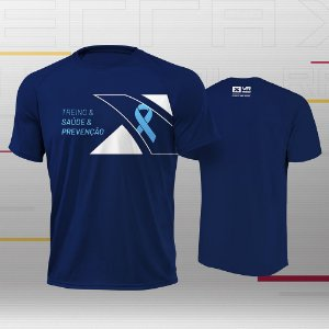 Xterra VR Novembro Azul Camiseta Masculina