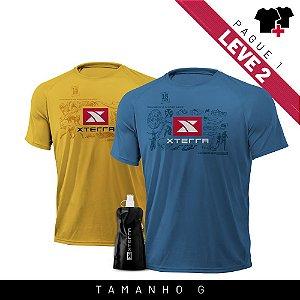 Xterra VR Survivor Kit Azul + Amarelo G