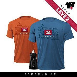 Xterra VR Survivor Kit Laranja + Azul PP