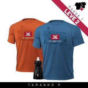 Xterra VR Survivor Kit Laranja + Azul P