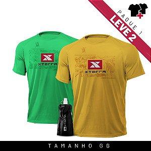 Xterra VR Survivor Kit Verde + Amarelo GG
