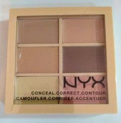 Paleta Nyx de corretivo Light/Clair