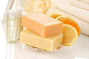 Sabonete Cold Process Tangerina e Manteiga de Cupuaçu