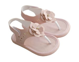 Sandália de Dedo Infantil Rosa
