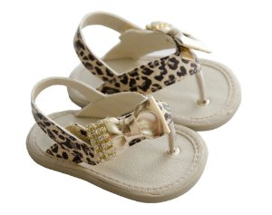 Sandália de Dedo Infantil Oncinha