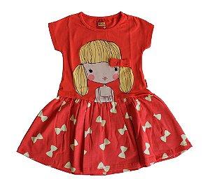 Vestido Infantil em cotton Kyly