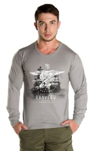 Camiseta Manga Longa Bravery