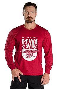 Camiseta Manga Longa Navy Seals