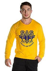 Camiseta Manga Longa SAS