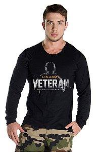 Camiseta Manga Longa Veterano