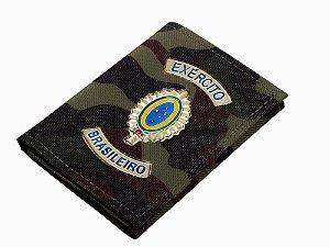Carteira Camuflada Exército Brasileiro
