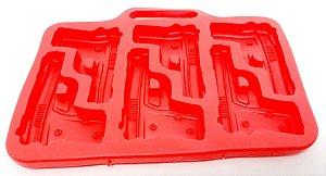 Forma de Gelo Vermelha