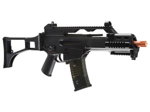Rifle Airsoft Ares G36C - AS36C AEG (Preta)