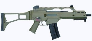 Rifle Airsoft Ares G36C - AS36C AEG (Verde)