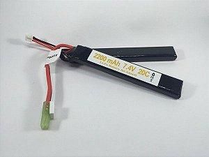 Bateria Recarregável - Lipo 2200mAh