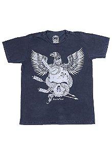 Camiseta Black Flag Águia de Aço