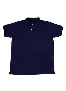Camisa Polo Black Flag Azul Marinho