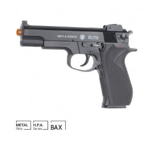 Pistola Airsoft Smith & Wesson M4505 Mola Slide Metal 6mm