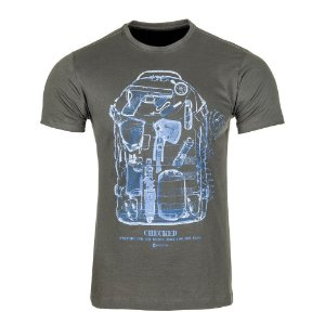 T-Shirt Concept Raio X Mochila