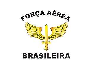 Adesivo Força Aérea Brasileira Brasão