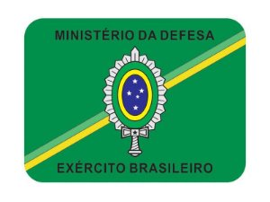 Adesivo Minist. Defesa Brasão EB