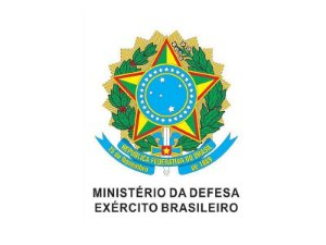 Adesivo Minist. Defesa Brasão República