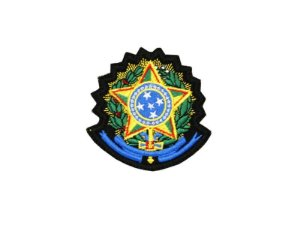 Patch Bordado Brasão da República