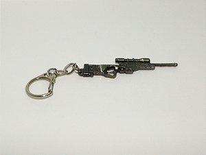 Chaveiro Sniper Cromado