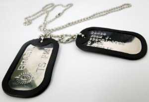 Colar Dogtag Customizável