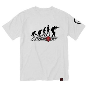 Camiseta Estampada Evolução