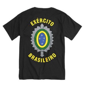 Camiseta Estampada Exército Brasileiro