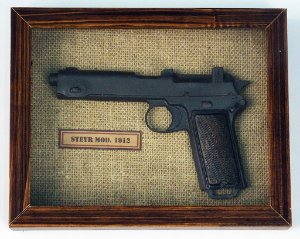Quadro Pistola Steyr Mod. 1912