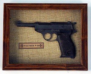 Quadro Pistola Walther P-38