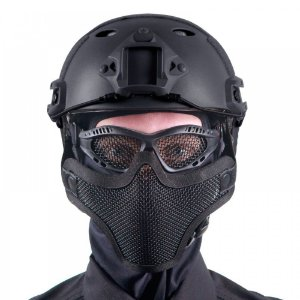 Combo Bravo com 10 Óculos e 10 Máscaras de Tela