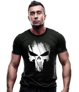 Camiseta Estampada Punisher