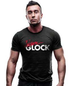 Camiseta Estampada Team Glock